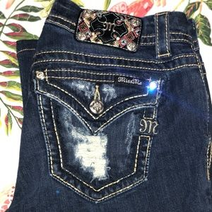 Miss Me size 29 signature boot cut jeans